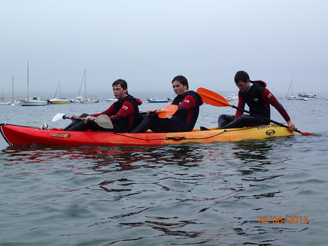 Tour en Kayak